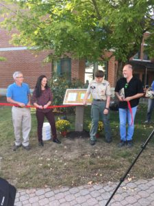 Story Walk Ribbon Cutting
